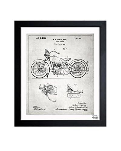Oliver Gal Harley, 1928 - Grey Framed Art