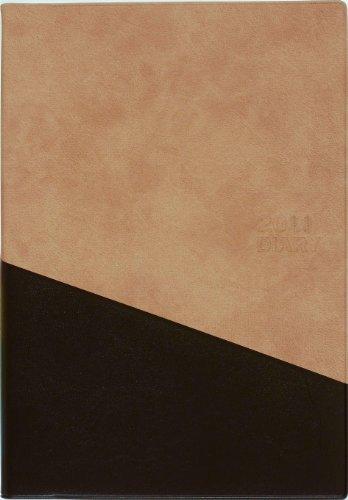 2011年版 生産性手帳 No.516 B6ダイアリー(月間&バーチカル週間)・コンプリート(茶)