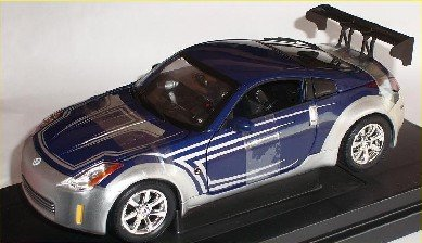 Nissan 35oz on Nissan 350z 350 Z Green Tokyo Drift Fast And The Furious 1 18 Amt Ertl