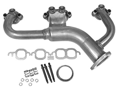 5 7 Vortec install exhaust manifold question - The 1947