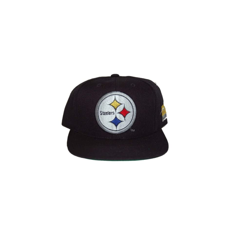 6bbfdb440b6 NFL Pittsburgh Steelers Sports Specialties Pro Line Adjustable Snapback Hat  Cap at Men s Clothing store