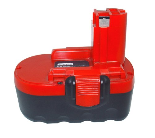 412BfgYlmcL - BEST BUY #1 PowerSmart® [Ni-Cd, Ni-Mh,Lithium-ion,18V,27Wh to 54Wh] Replacement Power tools/Cordless Drill battery Suitable for UK BOSCH Jan-53, PSR 18-2, Qualcast Trimlite 23, APR-70, 0603941352, APR 70, GL1 18V (2000mAh-Ni-Cd-Red) Reviews and price