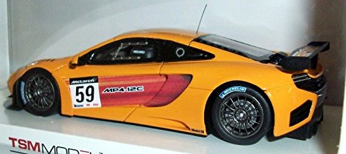 Truescale Miniatures McLaren MP4-12C GT3 2011 Presentation Model - 1/43 Scale Resin Collectors Model