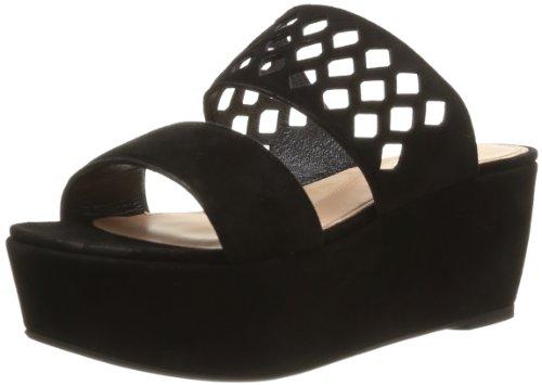 Robert Clergerie Women's Futine Clogs & Mules Black Noir (Chèvre Velours Noir) 5