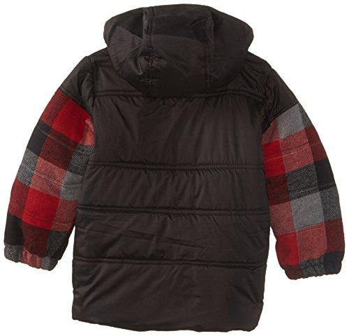 iXtreme Little Boys' Buffalo Plaid Puffer Jacket