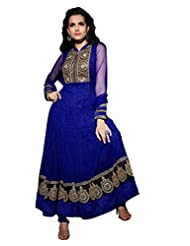 Net Anarkali With Zari Embroidery & Sequins - R0101007
