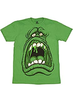 Ghostbusters T-Shirt, Ghostbusters Slimer Scream Green