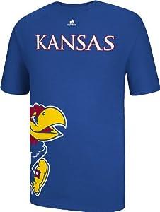 Buy adidas Kansas Jayhawks Getting Big Blue Short Sleeve T-Shirt by adidas