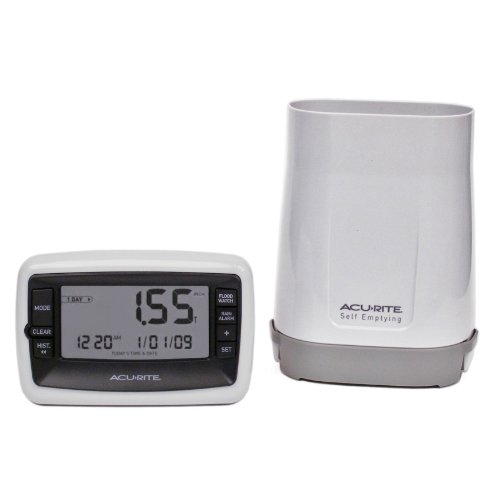 AcuRite 00899 Deluxe Wireless Rain Gauge