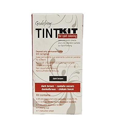 Godefroy Eyebrow Tint Dark Brown Kit