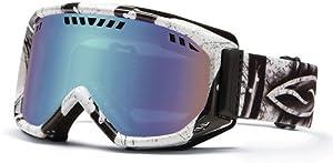 Smith Optics Scope Goggles, Charcoal Batik, Blue Sensor