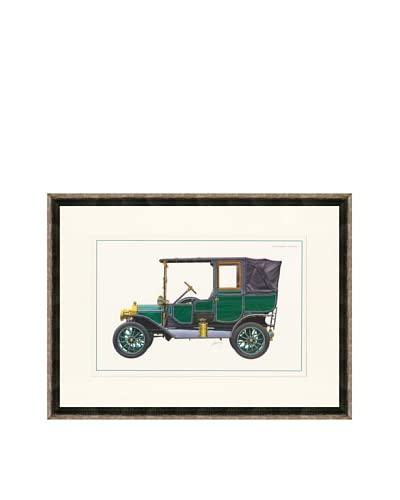 1912 Ford Model T Town Car Illustration
