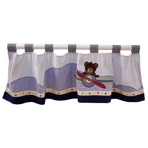 Nursery Curtains And Bedding 9878 front
