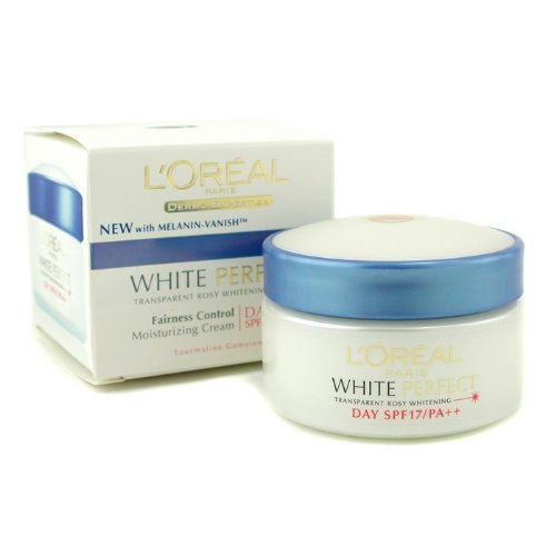 DermoーExpertise White Perfect Fairness Control Moisturizing Cream Day SPF17 PA++