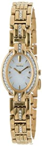 Citizen Women's EW8722-59D Eco-Drive Silhouette Swarovski Crystal Accented Gold-Tone Watch