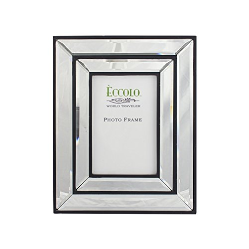 Eccolo Mirrored Frame, 5 by 7-Inch, Tillary