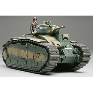 Top RC Military Vehicles: Tamiya 1/35 French Battle Tank Char B1 bis
