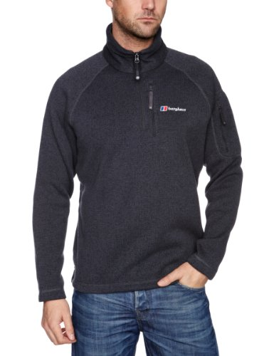 Berghaus Steppe Half Zip Men's Fleece - Thunder, Small