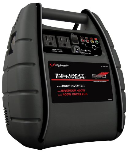 Schumacher IP-1800I Instant Power 950 Peak Amps Jump Starter with 18Ah Internal Battery