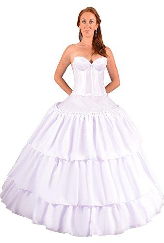 Hoop Skirt Petticoat for Belle costumes