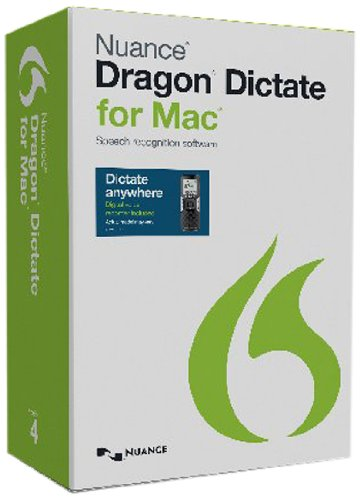 Dragon Dictate for Mac 4.0 Digital Recorder [Mobile edition]