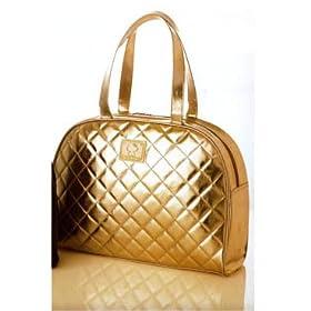 Hello Kitty Boston Handbag - Gold
