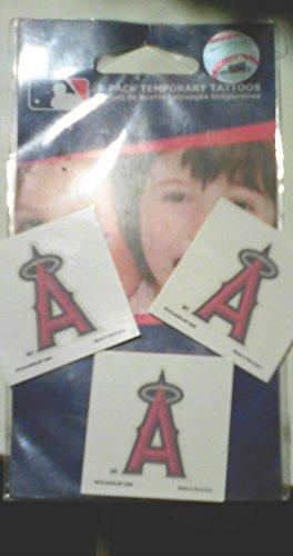 MLB Angels 70298091 Tattoo (4 Pack)