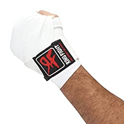 Ring Fight White Hand Wrap 180