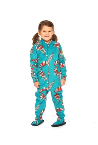 Monkey Pajamas For Kids front-1065878
