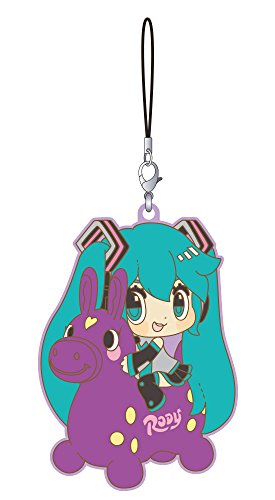 Good Smile Hatsune Miku X Cuterody Rubber Strap (Grape Version) Toy
