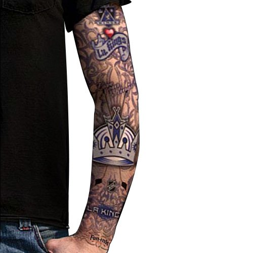 Amazon.com : NHL Los Angeles Kings Light Undertone Tattoo Sleeve