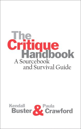 The Critique Handbook