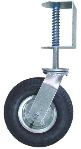Shepherd Hardware 9798 8-Inch Pneumatic Gate Caster, 200-lb Load Capacity