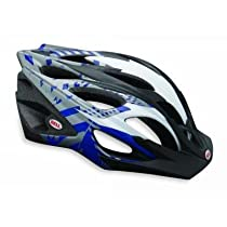 Bell Influx Bike Helmet, Navy/Titanium, Small