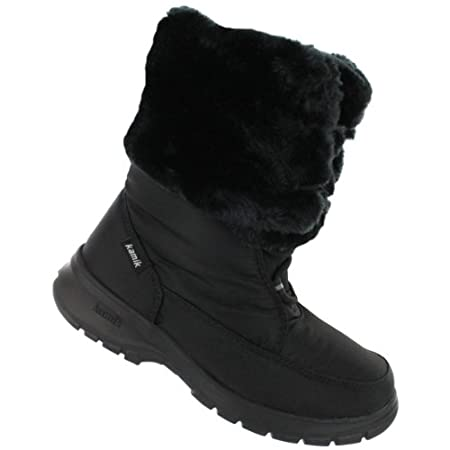 Fight off every wintery blast mother nature sends your way in this toasty waterproof boot.
