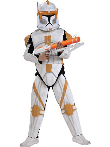 Star Wars Clone Wars Clone Trooper Child's Deluxe Commander Cody Costume