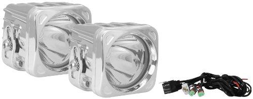 Vision X Lighting 9130729 Optimus Chrome Square 10W Narrow Led Spot Light - Pair