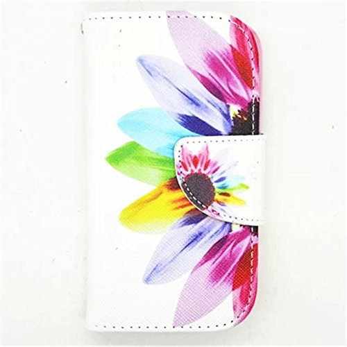 Macoku Painting Pattern Wallet Leather Cover with Credit Card ID Holders Flip Cute Cover Case Business Card Holders Wallet Pouch Cover Skin Cell Phone for Samsung Galaxy Ace 4 Lite G313M (Samsung Ace 4 Lite G313 compare prices)