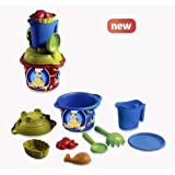 ADRIATIC Kitchen Sea Set with Pitcher and Serigraphy (Color: Multi-color)
