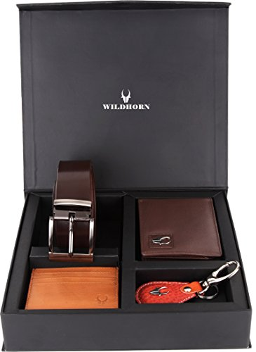 WildHorn geneuine leather wallet combo