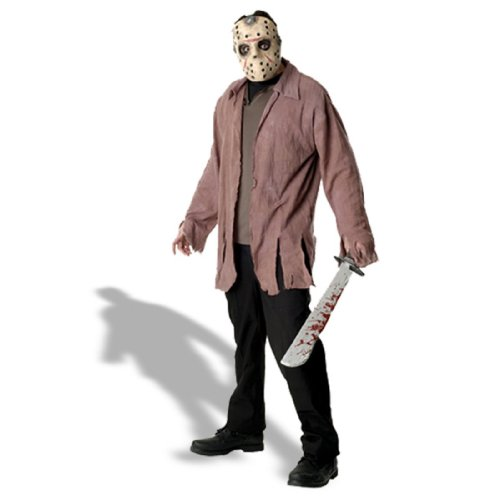 Friday The Thirteenth - Jason Voorhees Costume (Men's Adult Regular Size)