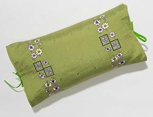 Traditional Korean Buckwheat Pillow : Amazon.com - Korean Decorative Pillow - Organic Buckwheat Pillow - Stylish Asian Embroidered ...