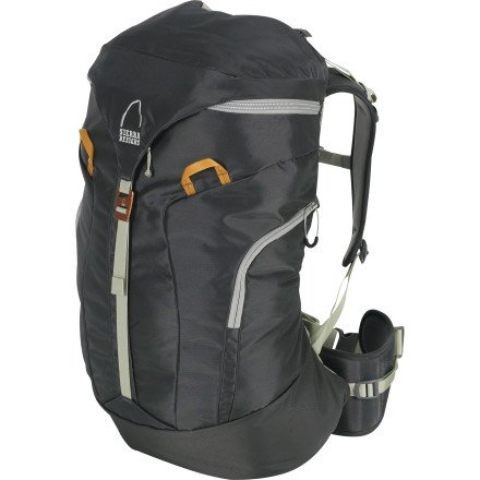 B0078D2Y60 Sierra Designs Prophecy 35 Climbing Pack (Rock, Small/Medium)