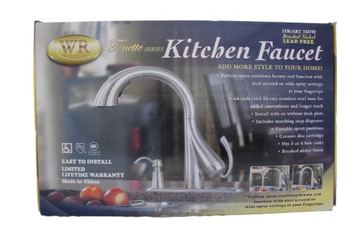 Cheap Pull Down Kitchen Faucet Water Ridge Tonette Series Pulldown - Waterridge kitchen faucet