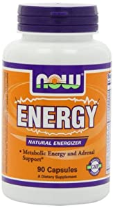 NOW Foods Energy - 90 Capsules - (Pack of 3)