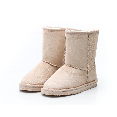 Reneeze K-ROSE-1 Kids Mid-Calf Boot- Beige
