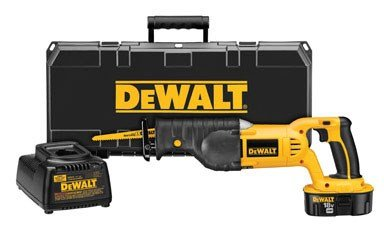 "Dewalt Cordless Reciprocating Saw 18.0 V 2900 Spm 1 "" Stroke Ni-Cd Variable Speed"