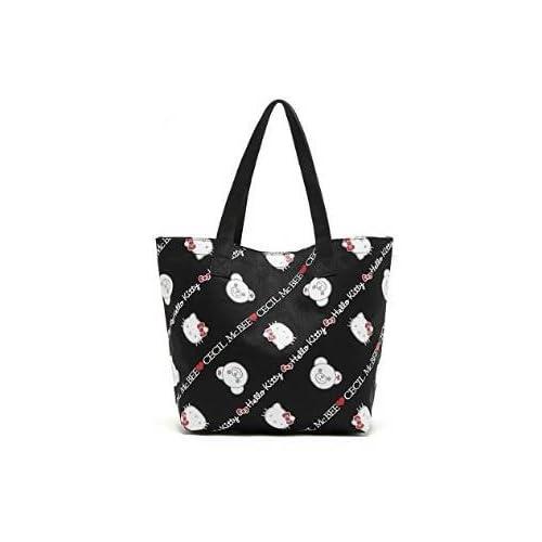 hello kitty ハローキティ セシルマクビー コラボ キティのバッグ 内ポケットあり  オリジナル 大容量  エコバッグ トートバッグ