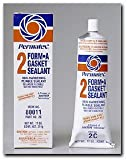 Permatex 80010 Form-A-Gasket #2 Sealant, 3 oz. Tube