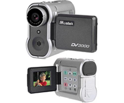 Mustek DV3000 Multi-Function Digital Video Camera w 1 5-inch LCD and 2x Digital ZoomB0000DIL62 : image